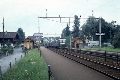 SBB Rothenburg, Haltestelle, 1966
